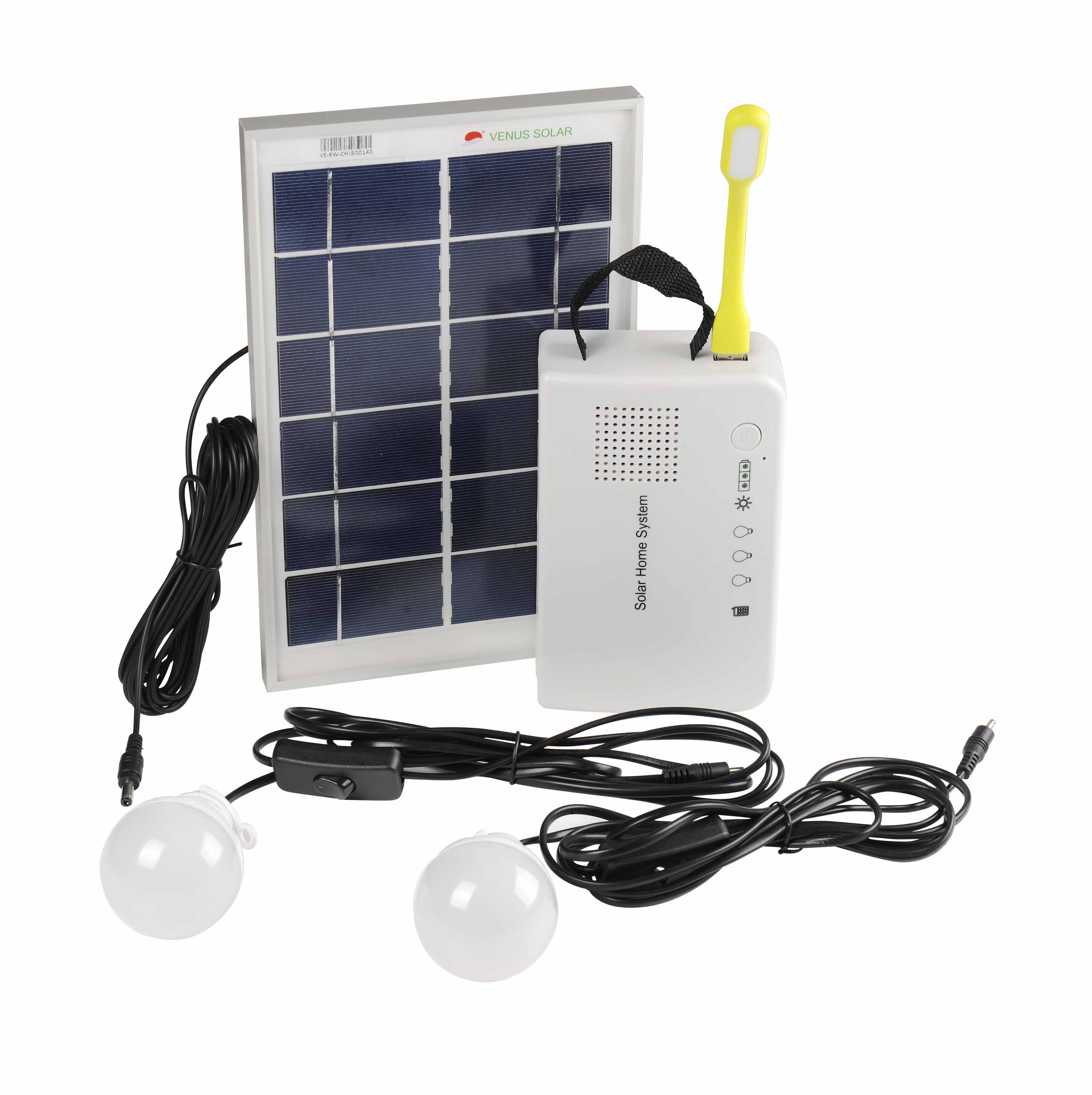 Solar DC power system